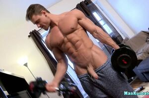 Super-fucking-hot muscular jock..