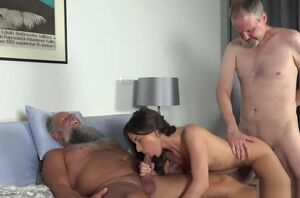 Older Virgin Porno Gang Penetrated..