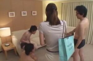 Exotic Asian  in  Gangbang, Assistant..