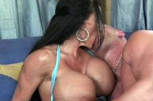 Utterly huge-boobed  Lisa Lipps enjoys..