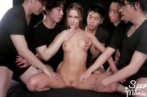 Blondie chinese internal cumshot..