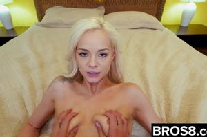 Elsa Jean Plumbs Her Spying StepBro