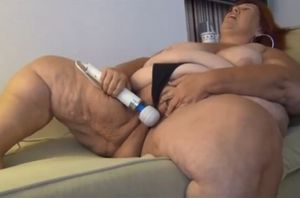 Ssbbw mature blows a load firm from..