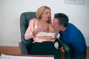 Brazzers - Fat Breasts at Work - A..