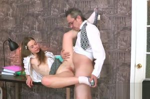 Yummy student is taunted and porked by..