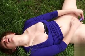 Sizzling adult movie star outdoor and..