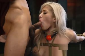 Defenseless Platinum-blonde Cristi Ann..