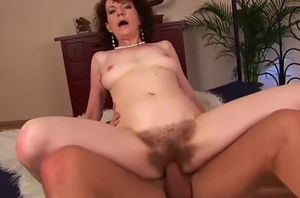 Captivating unhaved Czech mature girl..