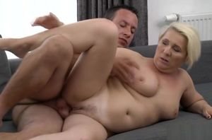 Huge-titted mature drills much junior..