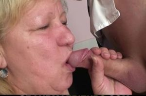 Buxomy furry poon grannie love dp