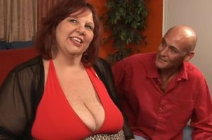 Ginger-haired Supersized  pounded