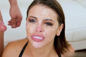 Adriana chechik mass ejaculation jism..
