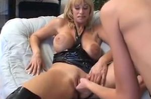 Molten maiden honey plays with her..