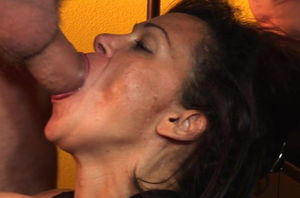 Marvelous mummy throating a ample..