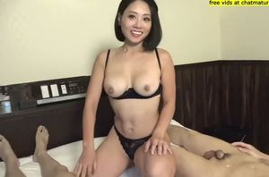 Japanese home made 3some