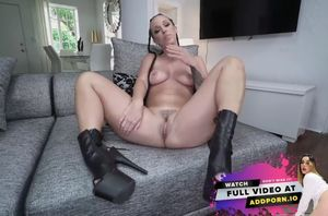 Jada stevens makes a cumback