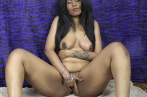Indian dame HornyLily dancing and..