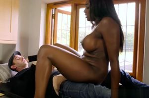 Jai James dark-hued beaver getting..