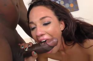 Big black cock Double penetration with..
