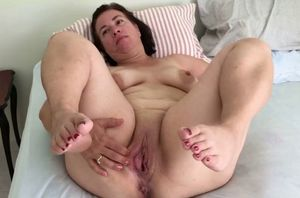 Plus-size cougar mature mother lush..