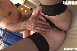 Amateureuro first-timer mature..