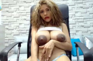 Columbian Web cam Model Drippy White..